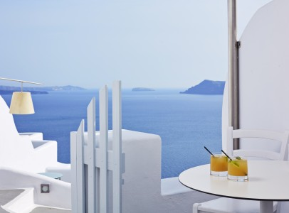 Katikies Hotel reception (5)